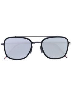 square aviator sunglasses Thom Browne