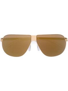 """солнцезащитные очки-авиаторы в стиле """"ретро"""" Mykita"""