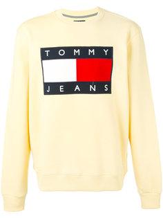 classic logo printed sweatshirt Tommy Hilfiger