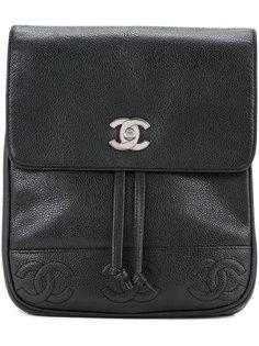 рюкзак с логотипом СС Chanel Vintage