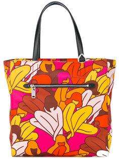 сумка-тоут с цветочным принтом Bally