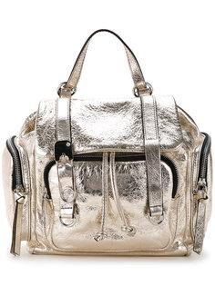металлизированный рюкзак с откидным клапаном Sonia By Sonia Rykiel
