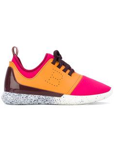 кроссовки с панельным дизайном Bally