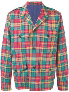 куртка-рубашка в клетку Paul Smith
