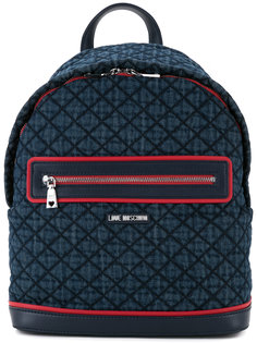 рюкзак с молнией спереди Love Moschino