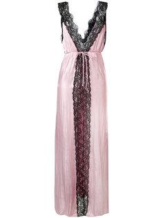 платье без рукавов с кружевными вставками Marquesalmeida