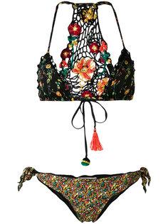 ditsy floral mismatched bikini Anjuna
