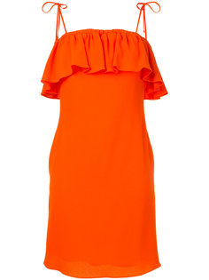 платье с оторочкой из рюшей Sonia By Sonia Rykiel
