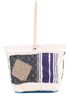 сумка-шоппер с аппликацией Ermanno Gallamini