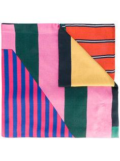 шарф с контрастными рисунками Pierre-Louis Mascia
