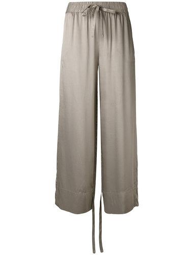 брюки с поясом на завязках Sharon Wauchob