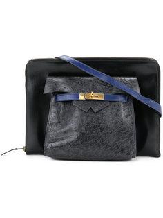 винтажкая сумка на плечо Amsterdam Hermès Vintage
