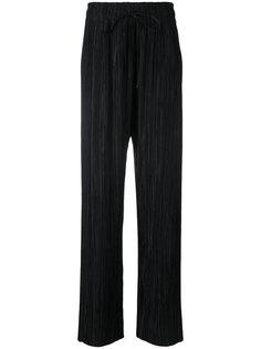 плиссированные брюки Haider Ackermann