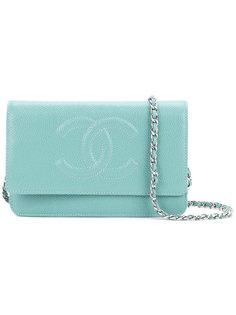 сумка-кошелек на цепочке с логотипом СС Chanel Vintage