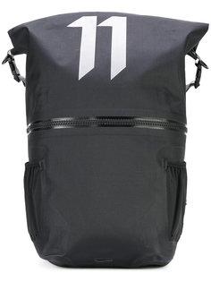 large logo print backpack 11 By Boris Bidjan Saberi