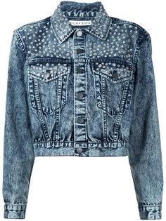 джинсовая куртка с заклепками Alice+Olivia