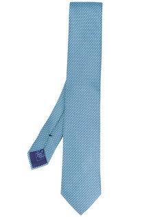 галстук с вышивкой Brioni
