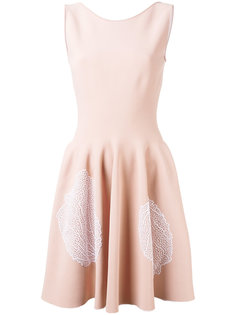 мини-платье с растительным узором Antonino Valenti