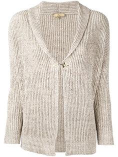 ribbed-knit cardigan Fay