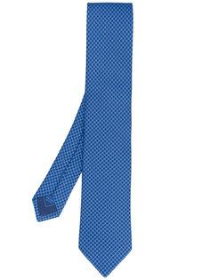 классический галстук с вышивкой Brioni