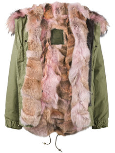 coyote fur lined parka Mr & Mrs Italy
