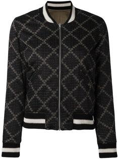 мягкая куртка бомбер Isabel Marant Étoile