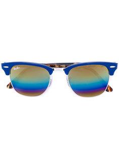 солнцезащитные очки Clubmaster Ray-Ban