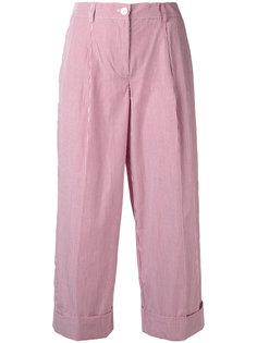 укороченные брюки в тонкую полоску P.A.R.O.S.H.