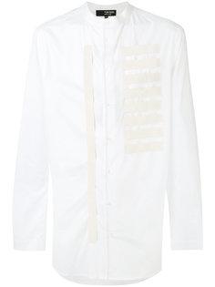 embroidered shirt Tom Rebl