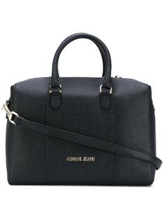 структурированная сумка-тоут Armani Jeans