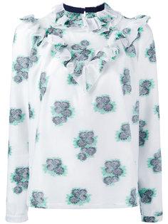 блузка с цветочным принтом Roseanna