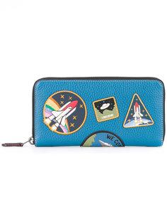 кошелек с космическими нашивками Coach