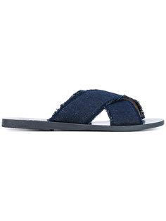 джинсовые сандалии Ancient Greek Sandals