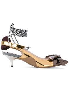 туфли с заостренным носком Nº21