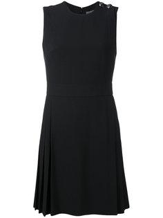 плиссированное мини-платье Alexander McQueen