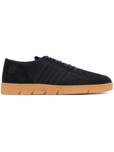 замшевые кроссовки на шнуровке Loewe