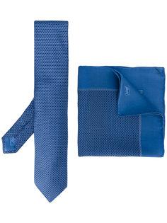 комплект с галстуком и нагрудным платком Brioni