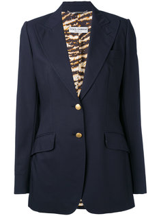classic fitted blazer Dolce & Gabbana Vintage