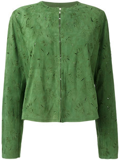 пиджак с растительным узором Drome