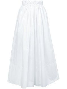 юбка миди с присборенной талией Chloé