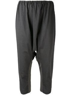 укороченные брюки с заниженной проймой Kristensen Du Nord