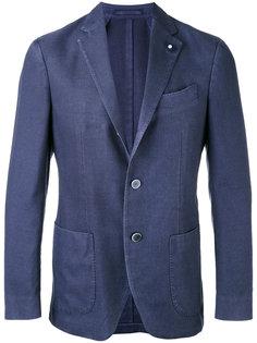 пиджак с заостренными лацканами Lardini