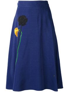 юбка с цветочным принтом Paul Smith