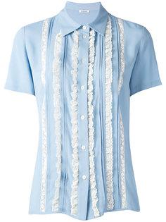 блузка с кружевными рюшами P.A.R.O.S.H.