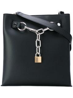 сумка на плечо с цепочной отделкой Attica  Alexander Wang
