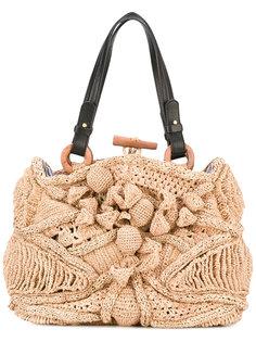 соломенная сумка Jamin Puech