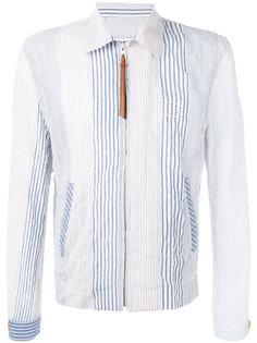 куртка в полоску Loewe
