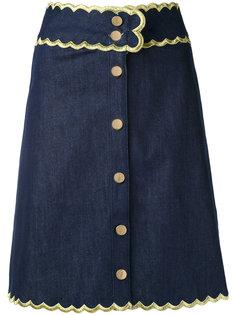 джинсовая юбка Manoush