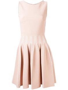 плиссированное платье миди  Antonino Valenti