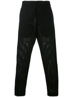 cropped tailored trousers Tom Rebl
